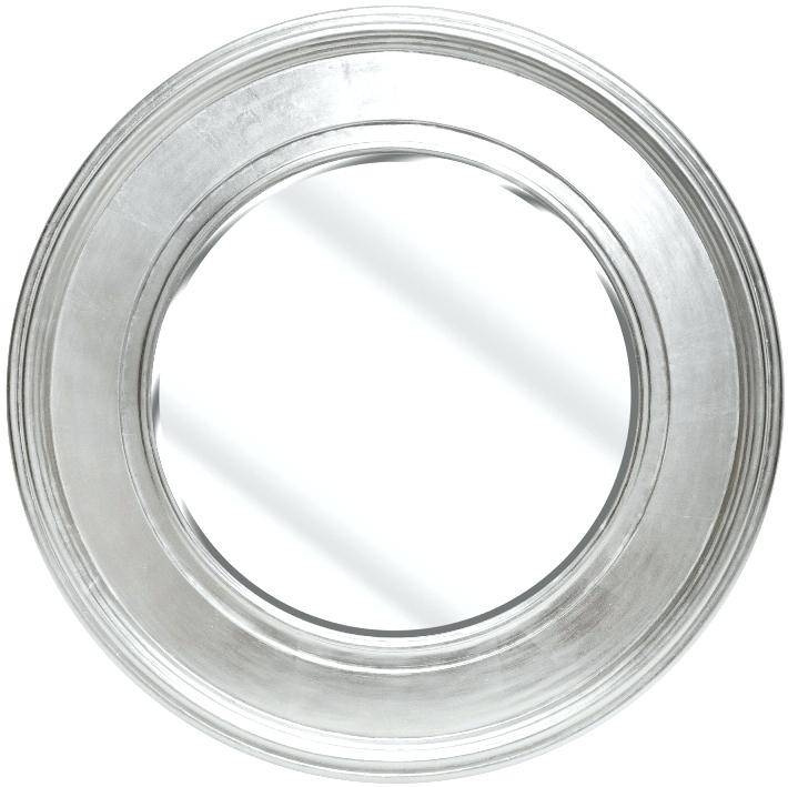Round Silver Mirrors Walls Mirror Tray – Shopwiz Intended For Large Round Silver Mirrors (#24 of 30)