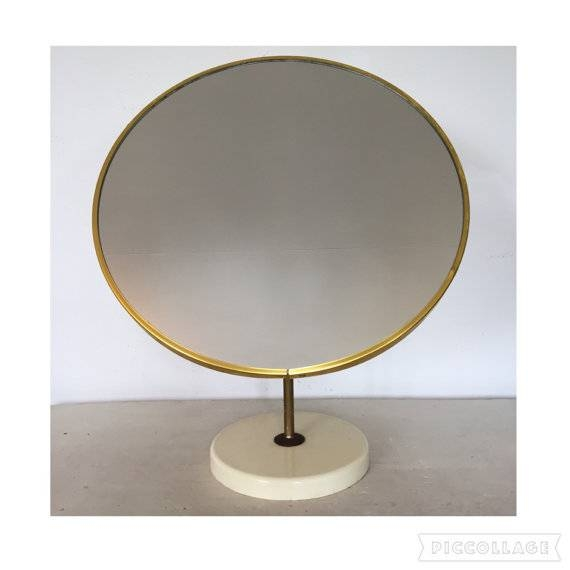 Round Table Mirror – Oware Intended For Standing Table Mirrors (#25 of 30)