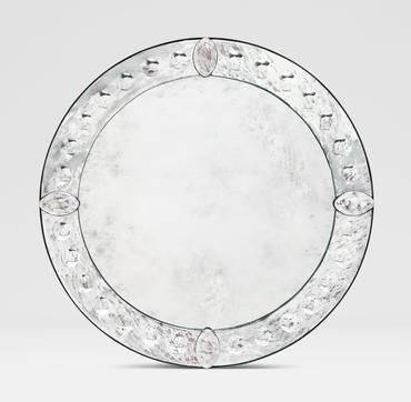 Round Venetian Style Mirror – Mecox Gardens Inside Venetian Style Mirrors (#20 of 30)