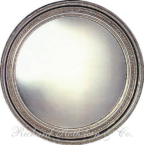 Round Wall Mirror With Silver Gilt Frame From Richard Rothstein With Regard To Very Large Round Mirrors (#21 of 30)