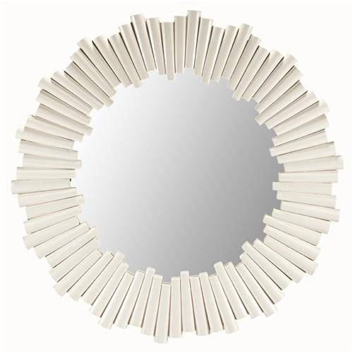 Round White Mirror I Zinc Door Within Round White Mirrors (#22 of 30)