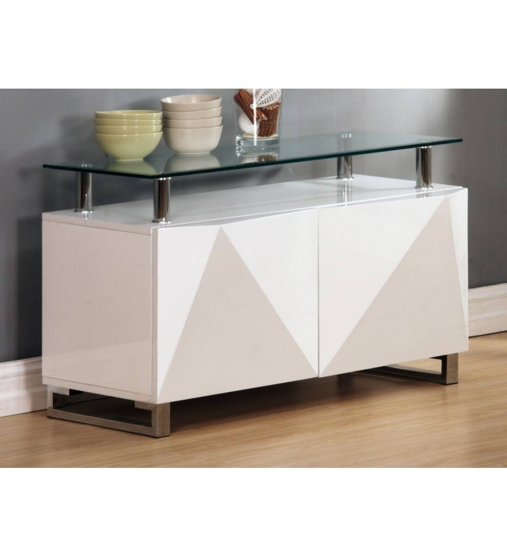 Rowley White High Gloss Sideboard 2 Door – Grab Some Furniture Regarding White High Gloss Sideboard (View 12 of 20)