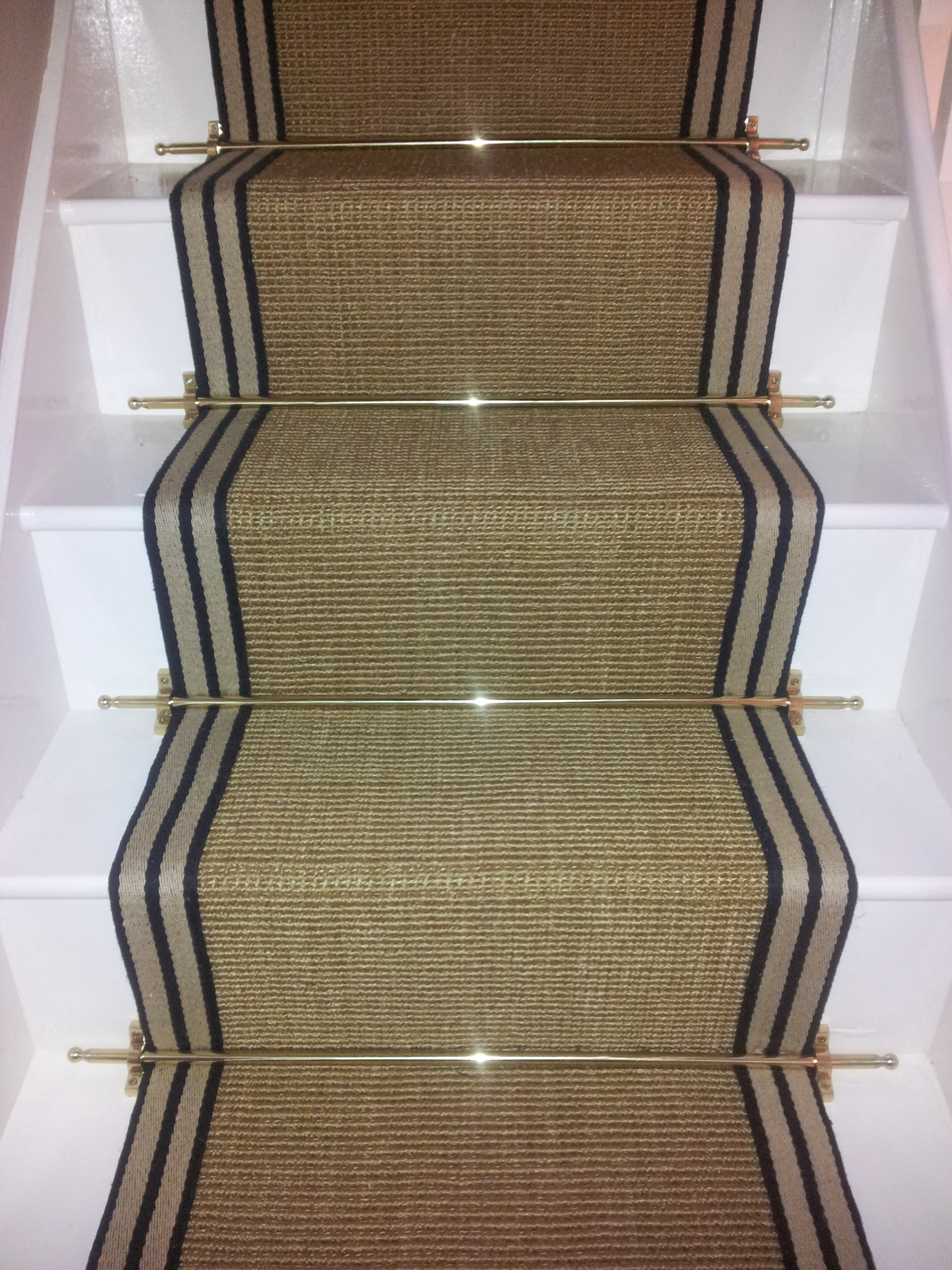 Rug Nice Carpet Stair Treads Lowes For Home Flooring Ideas Inside Stair Treads Landing Rug (#12 of 20)