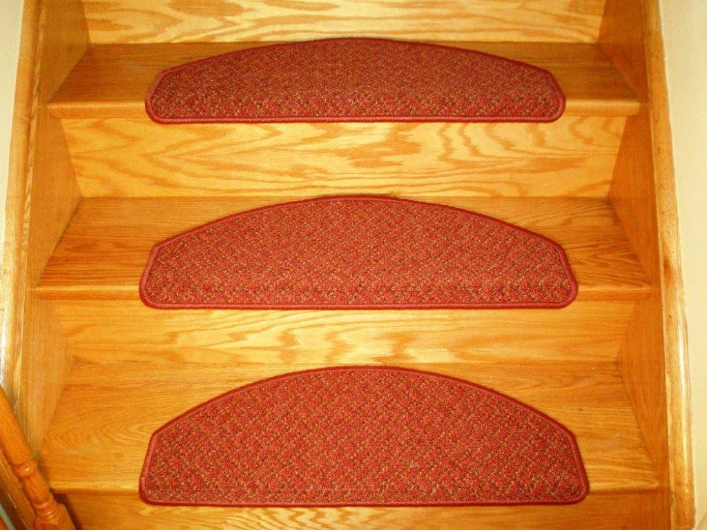 Rug Nice Carpet Stair Treads Lowes For Home Flooring Ideas Intended For Braided Rug Stair Treads (#16 of 20)