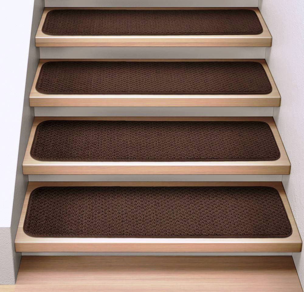 Rug Nice Carpet Stair Treads Lowes For Home Flooring Ideas Intended For Individual Stair Tread Rugs (#15 of 20)