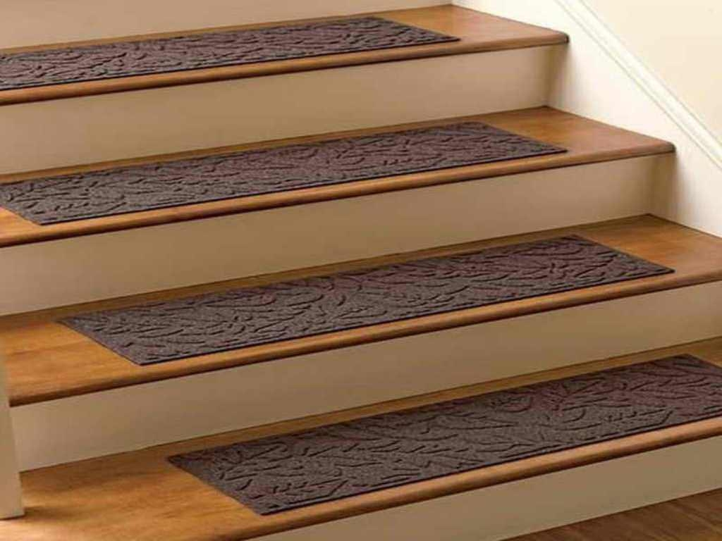 Rug Nice Carpet Stair Treads Lowes For Home Flooring Ideas Pertaining To Individual Stair Tread Rugs (#16 of 20)