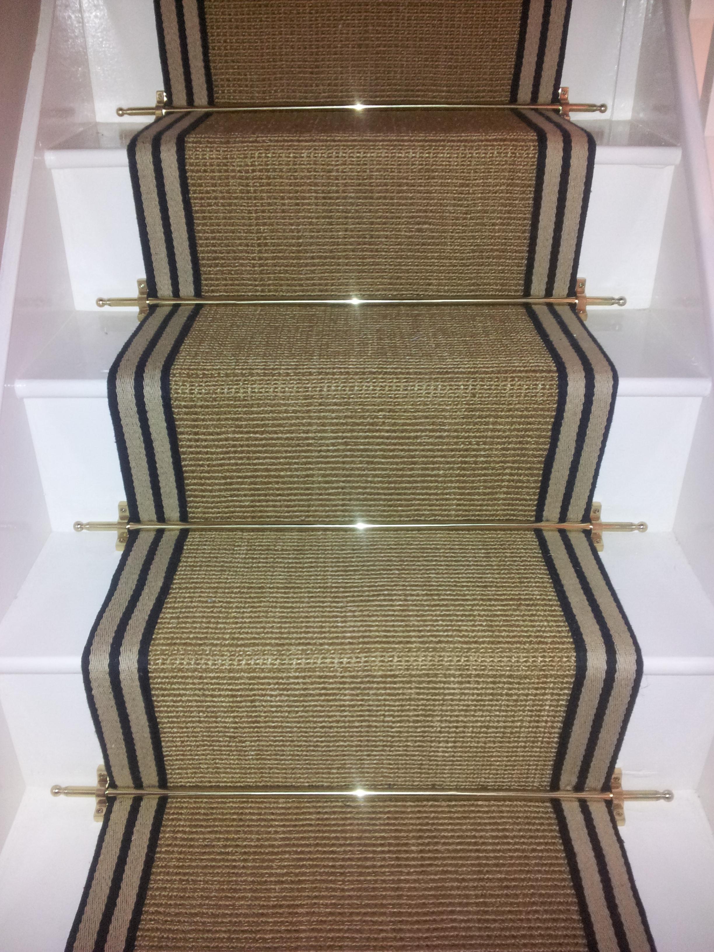Rug Nice Carpet Stair Treads Lowes For Home Flooring Ideas Regarding Sisal Stair Tread Rugs (#16 of 20)