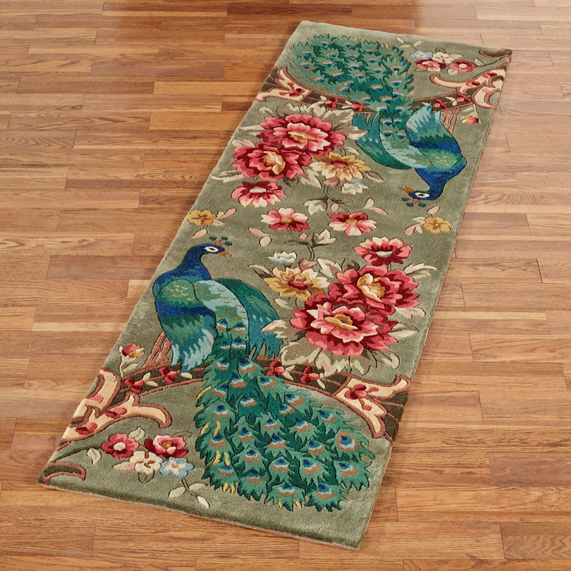 Rug Runner Area Rugs Touch Of Class Pertaining To Hallway Runners Floral (#16 of 20)