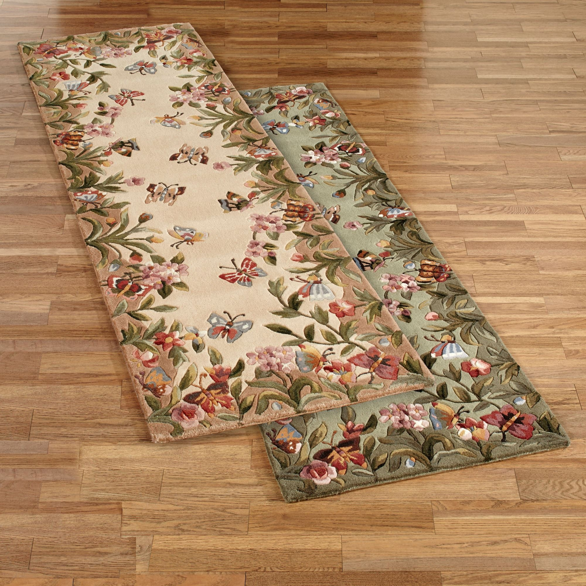 Rug Runner Area Rugs Touch Of Class Regarding Hallway Runners Floral (#17 of 20)