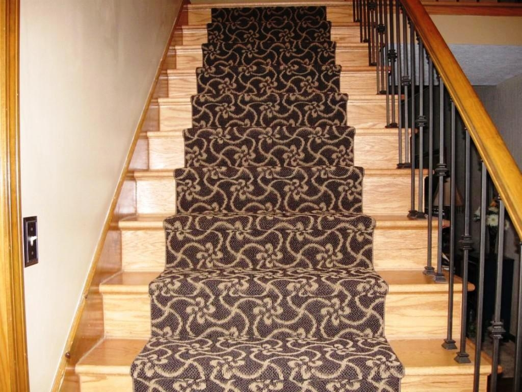 Rug Stair Grips Carpet Strips For Stairs Carpet Stair Treads Throughout Adhesive Carpet Strips For Stairs (#17 of 20)