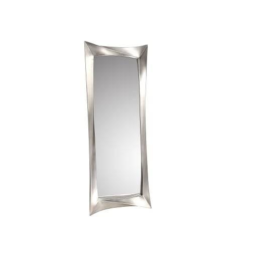 Rv Astley Ceret Silver Leaf Long Wall Mirror – Rv Astley From Inside Long Silver Wall Mirrors (#11 of 15)