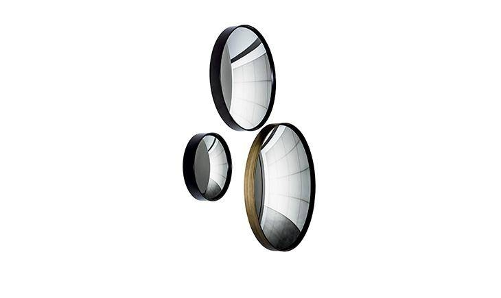 Sail | Contemporary Wall Mirrors With Steel Frame | Sovet Throughout Concave Wall Mirrors (#13 of 15)