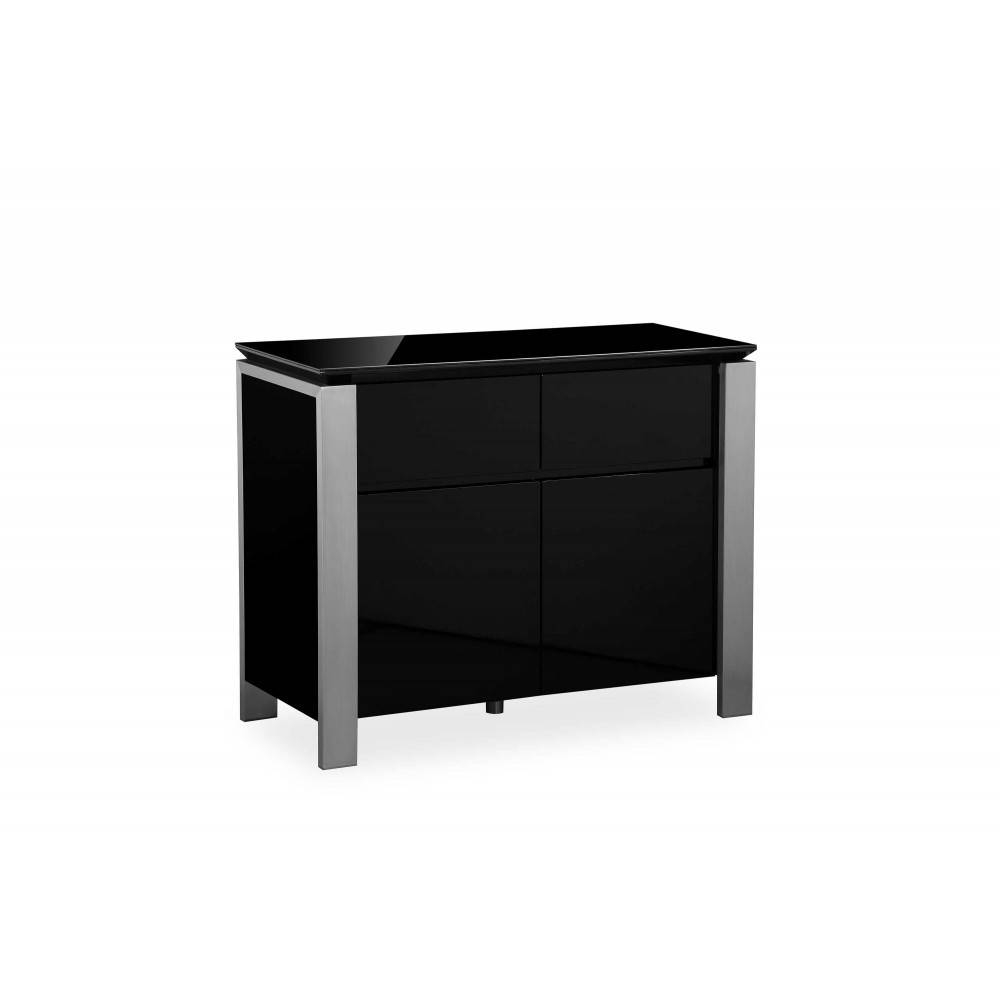 Santos Black – Small Sideboard With Small Black Sideboard (#16 of 20)
