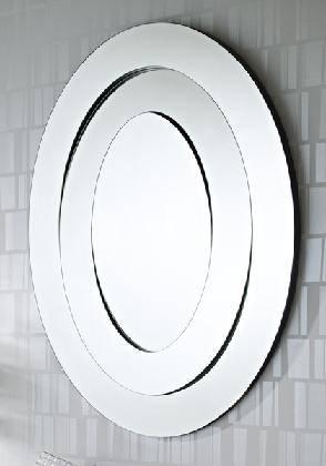 Saturn Oval Frameless Wall Mirrordeknudt Mirrors – £ (View 8 of 20)