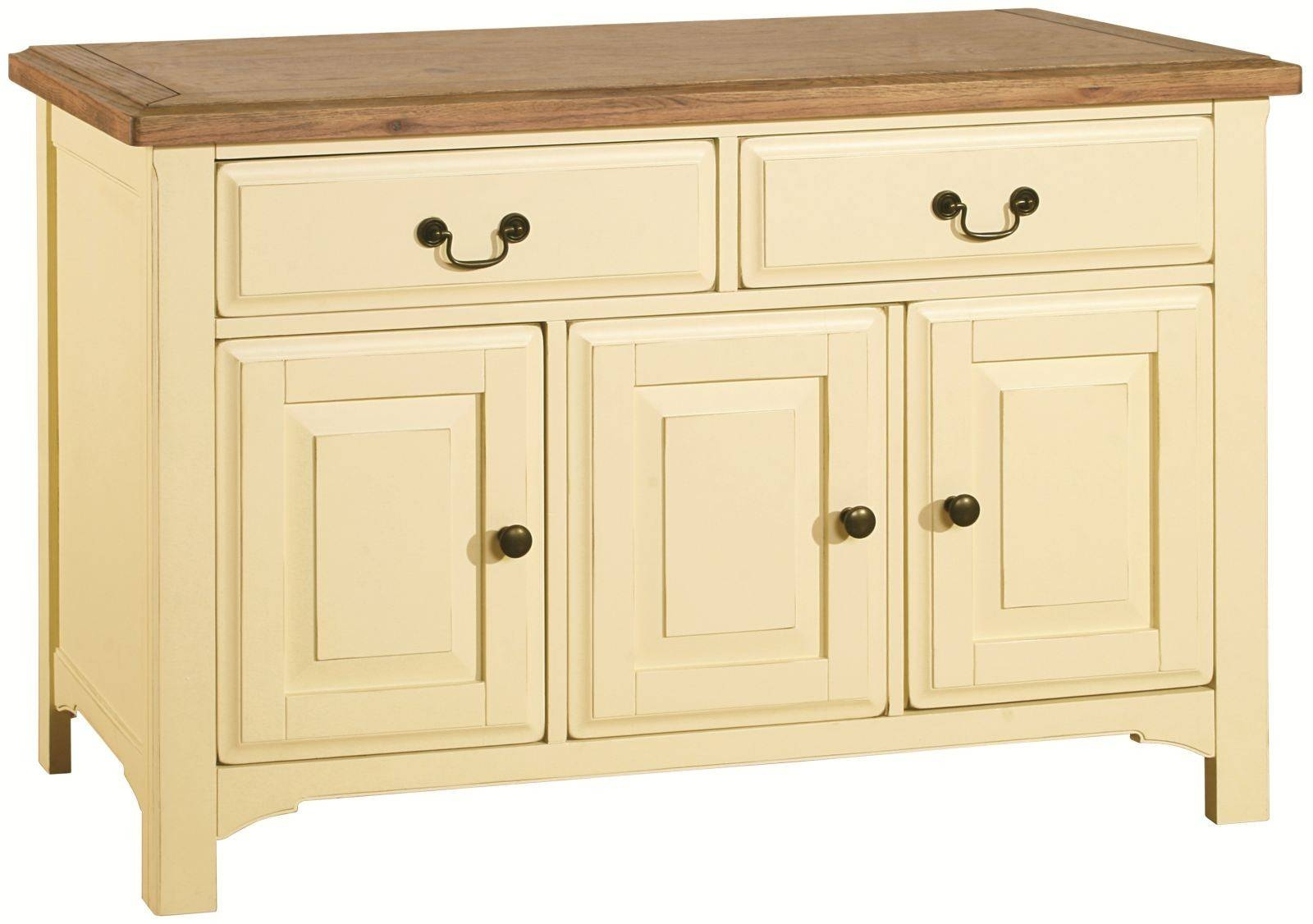 Savannah Country Cream Painted Large Sideboard Within Cream Sideboard (#18 of 20)