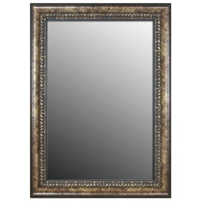 Second Look Mirrors Euro Olde World Vintage Silver Wall Mirror Regarding Vintage Silver Mirrors (#16 of 20)