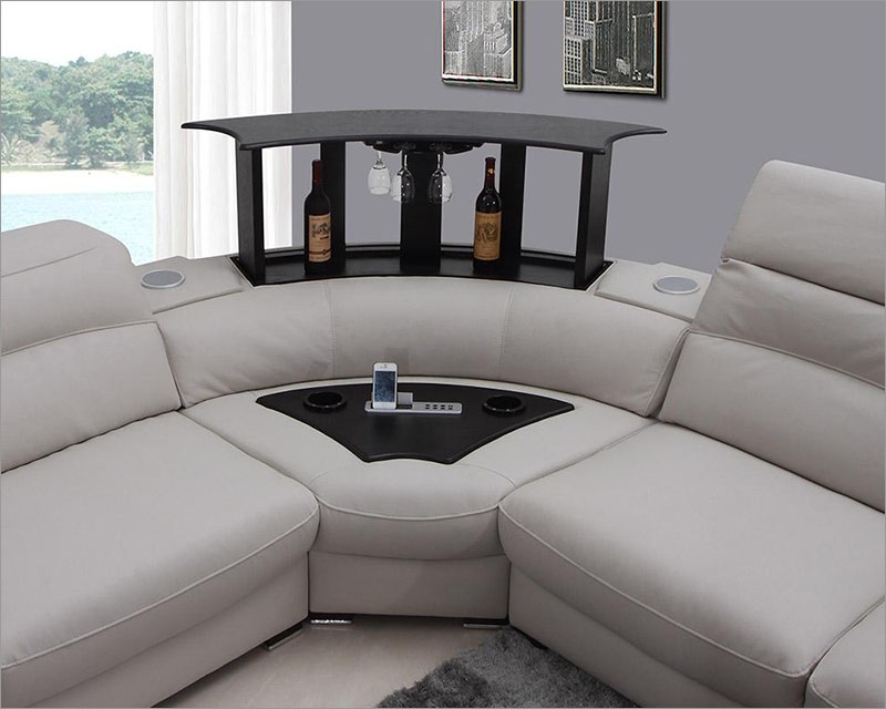 Sectional S Adorable Western Leather Western Leather Furniture Pertaining To Gray Leather Sectional Sofas (#11 of 15)