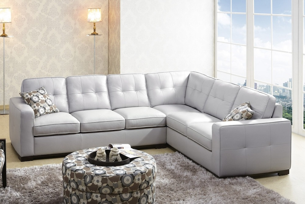 Sectional Sofa Grey Best 10 Charcoal Couch Ideas On Pinterest Throughout Gray Leather Sectional Sofas (#12 of 15)