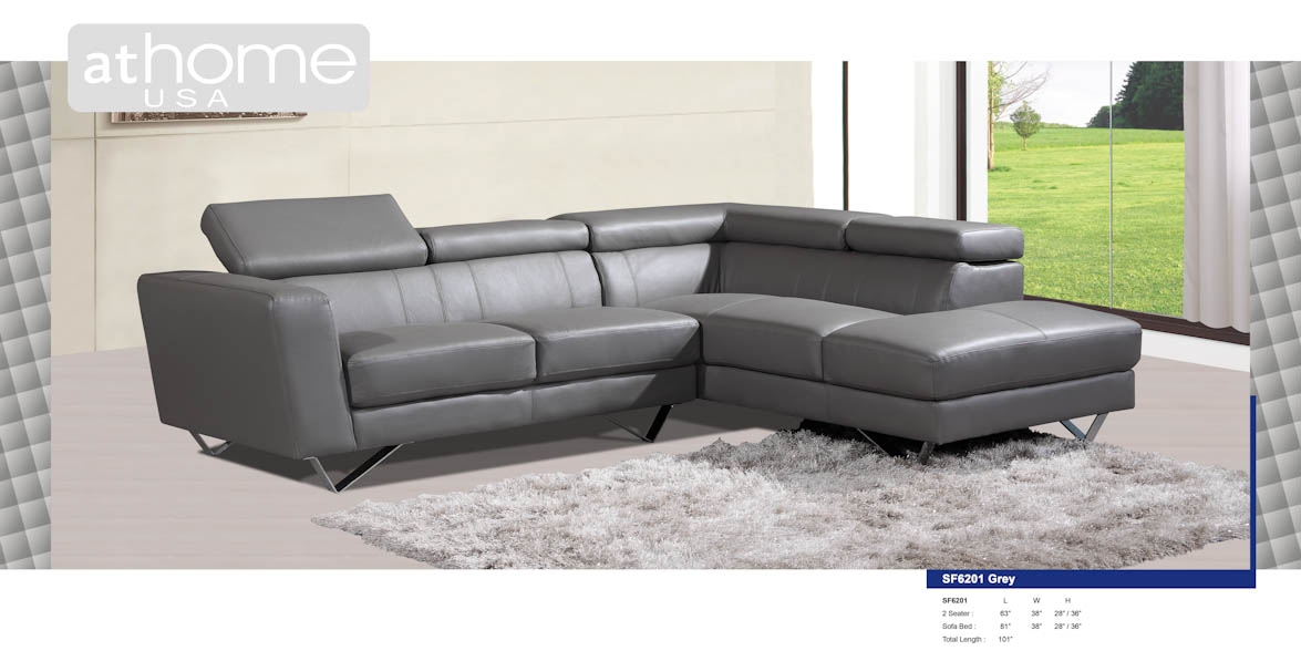 Sectional Sofa Greydg Casa Danbury Midcentury Grey Sectional Sofa For Gray Leather Sectional Sofas (# : gray sectional sofa - Sectionals, Sofas & Couches