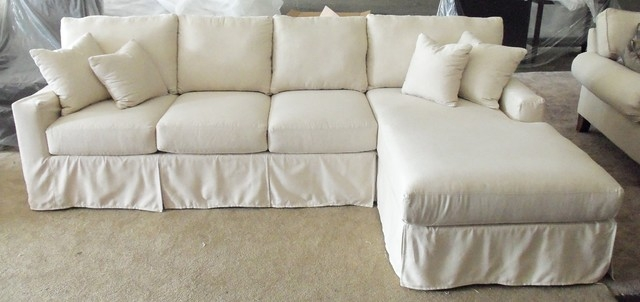Sectional Sofa Slipcovers For Slipcover For Leather Sectional Sofas (#10 of 15)