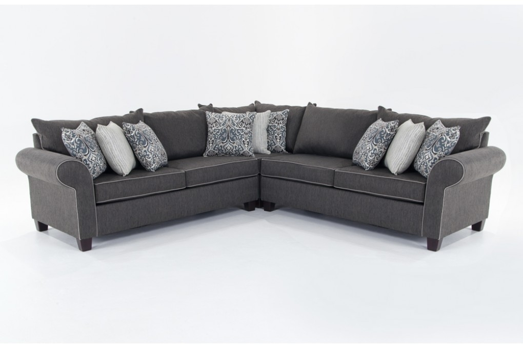 Sectional Sofas Living Room Furniture Bobs Discount Furniture Pertaining To Sectinal Sofas (View 13 of 15)