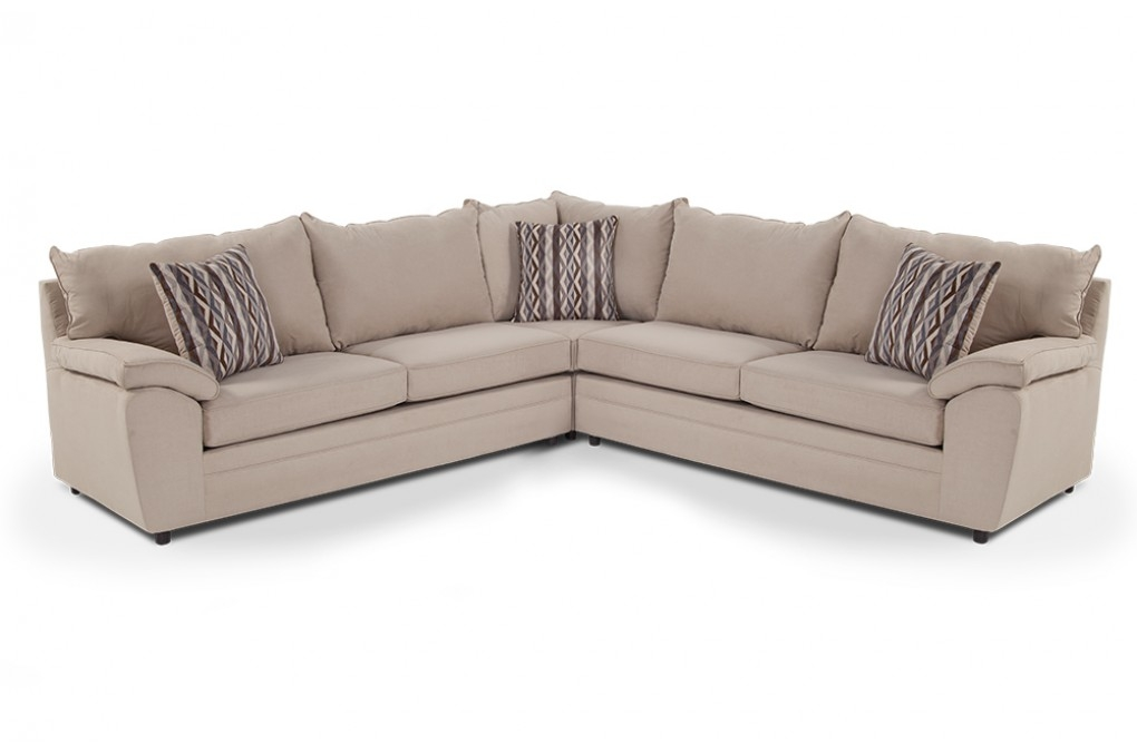 Sectional Sofas Living Room Furniture Bobs Discount Furniture Regarding Sectinal Sofas (View 10 of 15)