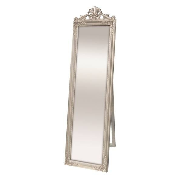 Selectionschaumont Kensington Silver Cheval Mirror – 18562246 Intended For Silver Cheval Mirrors (#17 of 20)