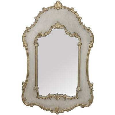 Selectives French Vanity Wall Mirror & Reviews | Wayfair Throughout French Wall Mirrors (View 14 of 20)