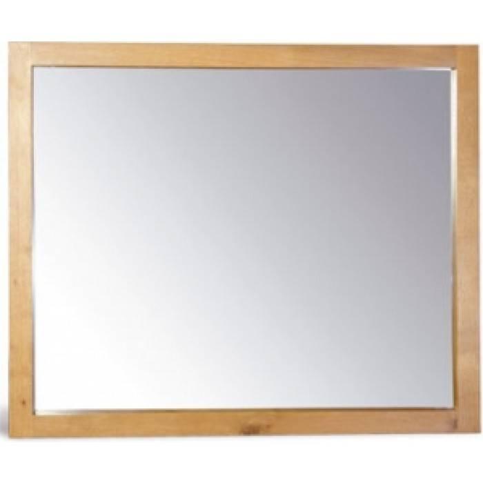 Seville Oak Wall Mirror – 100 X 120 Cm | Edinburgh Furnishing Store Regarding Oak Wall Mirrors (#11 of 15)