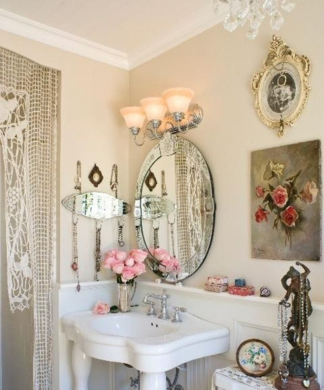 Inspiration About Shabby Chic Bathroom Décor Ideas :: Best Home Design  Ideas Inside Shabby Chic