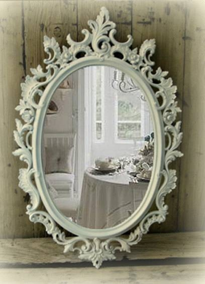 Shabby Chic Bathroom Mirror – Best Bathroom 2017 In White Shabby Chic Mirrors (View 6 of 30)