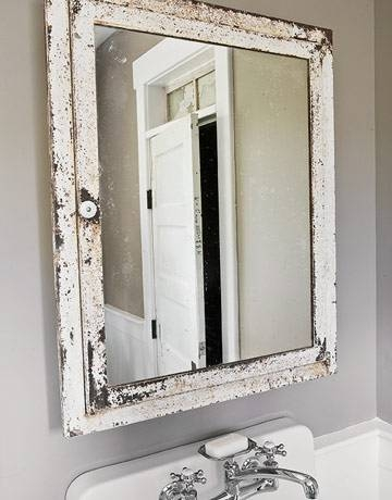 bathroom cabinets shabby chic 30 collection of shabby chic bathroom mirrors 15658