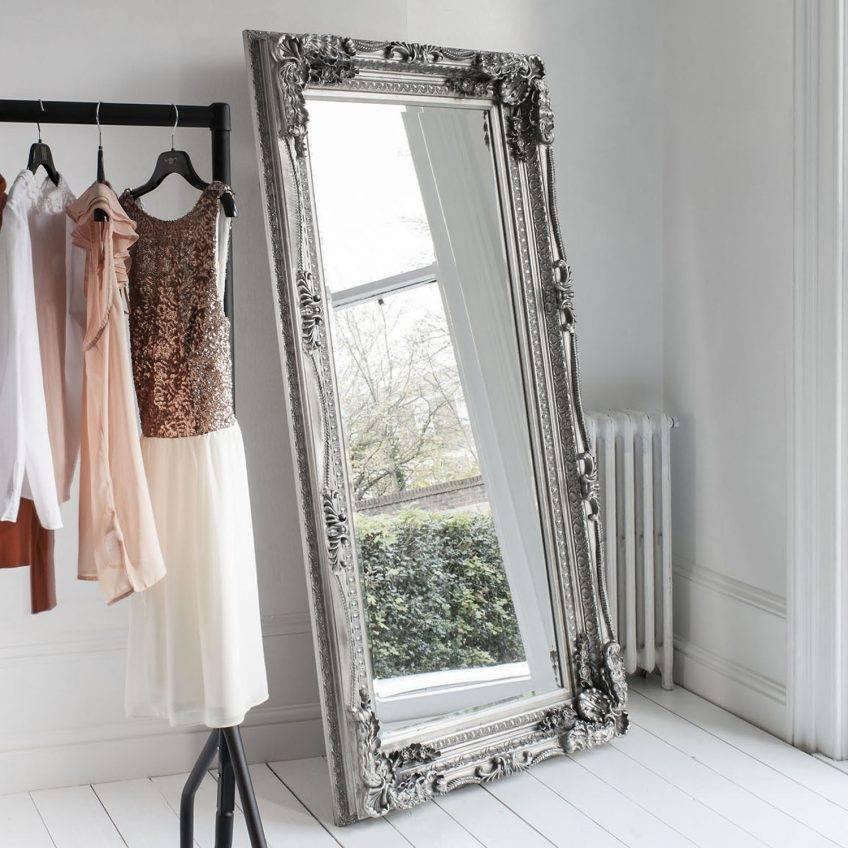 Shabby Chic Floor Mirror 147 Stunning Decor With Extra Large Inside Shabby Chic Floor Mirrors (#13 of 20)