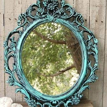 Shabby Chic Mirrorsshabby Mirrors For Sale Uk Large Mirror Frame Within Black Shabby Chic Mirrors (#19 of 20)