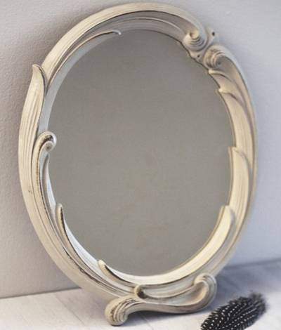 Shabby Chic Oval Mirror – Shabby Chic Oval – 8 Pertaining To Oval Shabby Chic Mirrors (View 5 of 20)