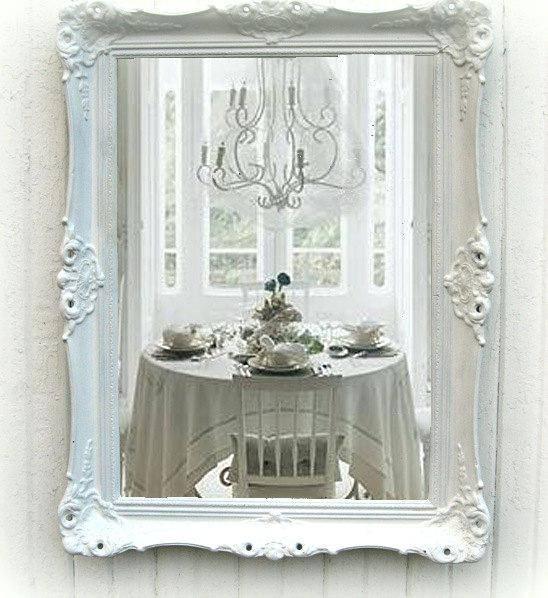 Shabby Chic White Mirror – Shopwiz Pertaining To Shabby Chic White Mirrors (#25 of 30)