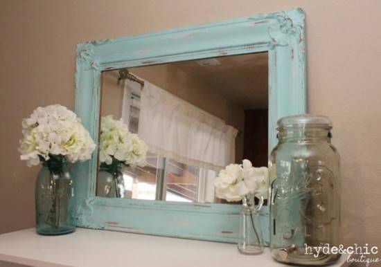 Shabby Chic Your Home For Christmas – Page 5 Of 6 – Maid In Essex With Large Shabby Chic Mirrors (#18 of 20)