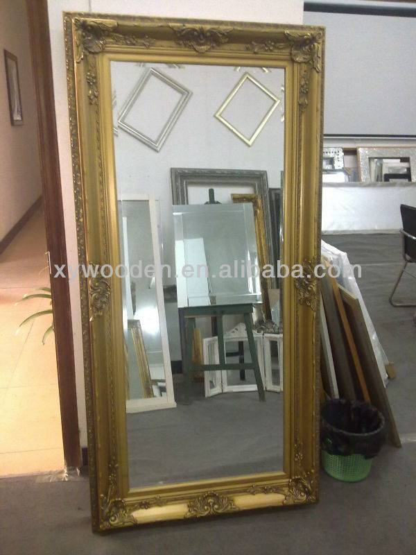 Shabby Vintage Style Bevel Edge Mirror Silver Coloured Frame – Buy Intended For Vintage Bevelled Edge Mirrors (#24 of 30)