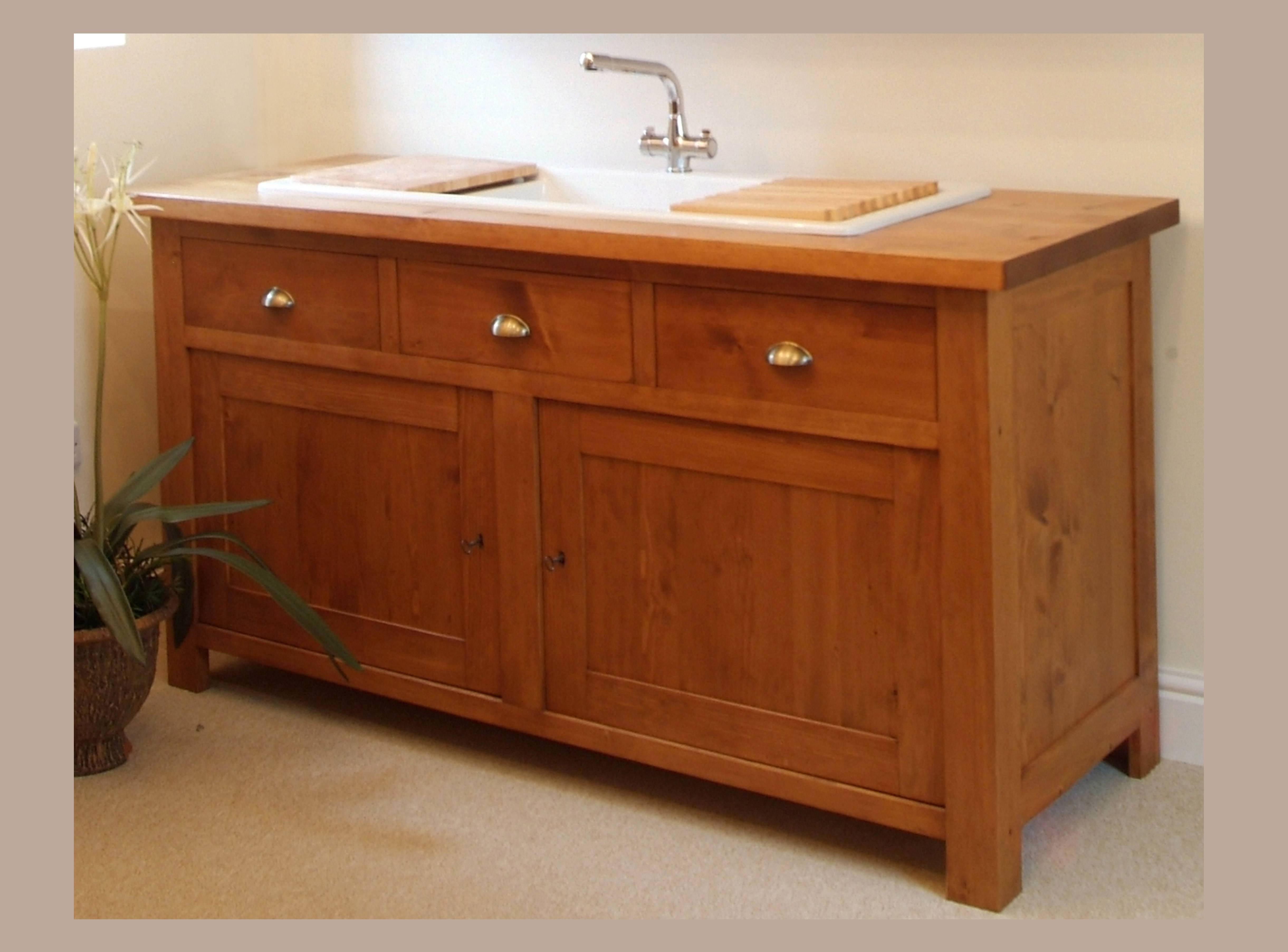 Shaker Style Freestanding Inset Sink Unit – Kuchyne Bohemian (View 14 of 20)
