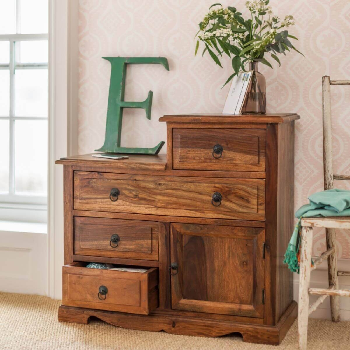 Sheesham Sideboard Units – The Furniture Co For Sheesham Sideboards (#14 of 20)
