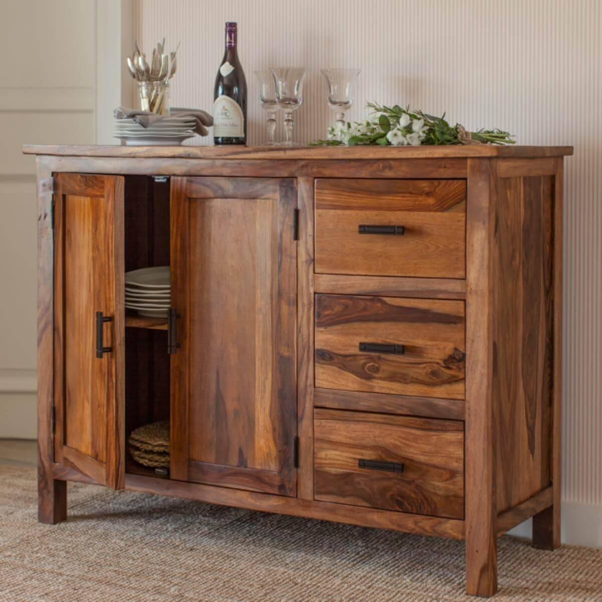 Sheesham Sideboard Units – The Furniture Co In Sheesham Sideboards (View 13 of 20)