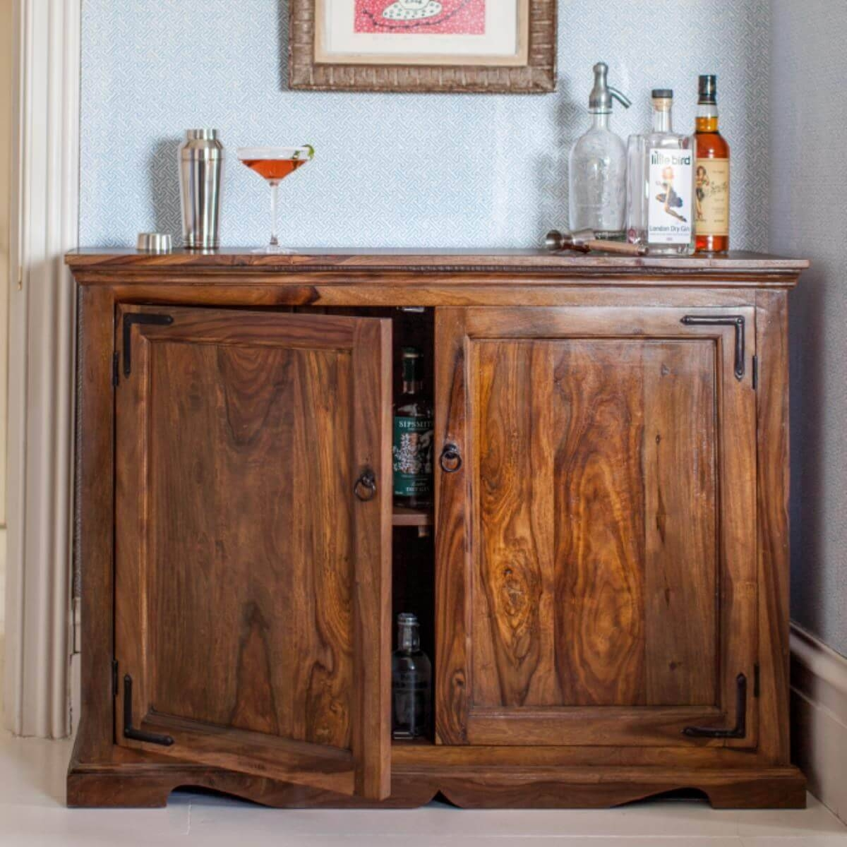 Sheesham Sideboard Units – The Furniture Co Intended For Sheesham Sideboards (#16 of 20)