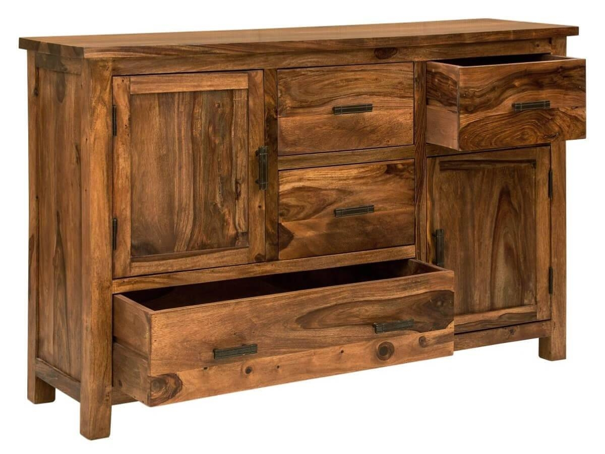 Sheesham Sideboard Units – The Furniture Co Throughout Sheesham Sideboards (#17 of 20)
