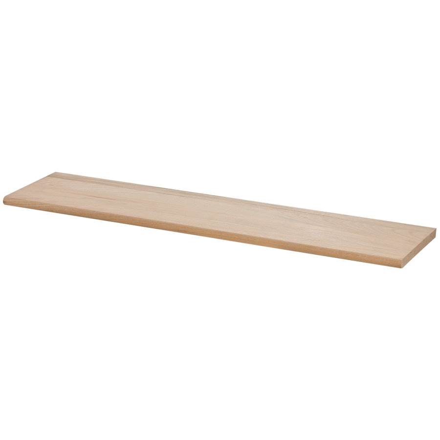 Shop 115 In X 48 In Raw Red Oak Stair Tread At Lowes Intended For Rectangular Stair Treads (#9 of 20)