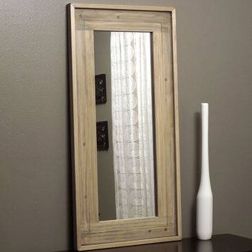 Shop Distressed Wood Mirror On Wanelo With Regard To Distressed Framed Mirrors (#27 of 30)