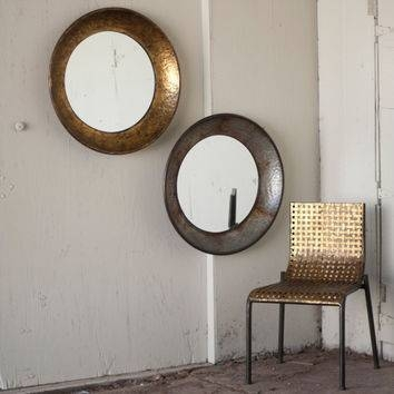 Shop Large Antique Mirror On Wanelo With Regard To Large Round Metal Mirrors (View 28 of 30)