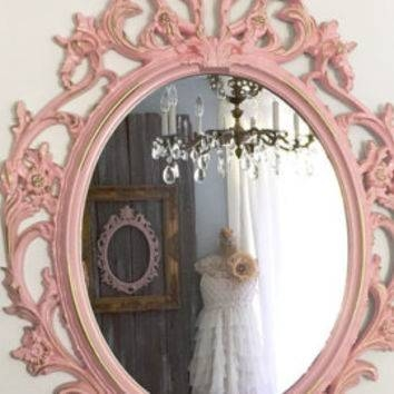 Shop Large Framed Wall Mirrors On Wanelo With Large Pink Mirrors (#28 of 30)