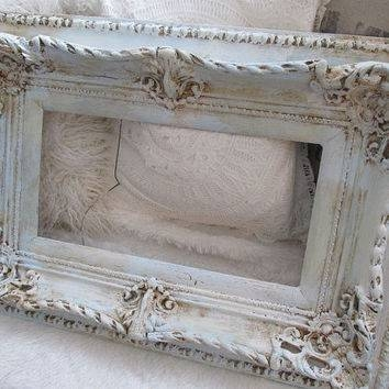 Shop Large Shabby Chic Frames On Wanelo Intended For Cream Shabby Chic Mirrors (#27 of 30)
