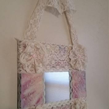 Shop Shabby Chic Mirror On Wanelo Inside Cream Shabby Chic Mirrors (#28 of 30)