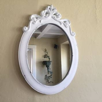Shop White Ornate Mirror On Wanelo Within White Ornate Mirrors (#17 of 20)